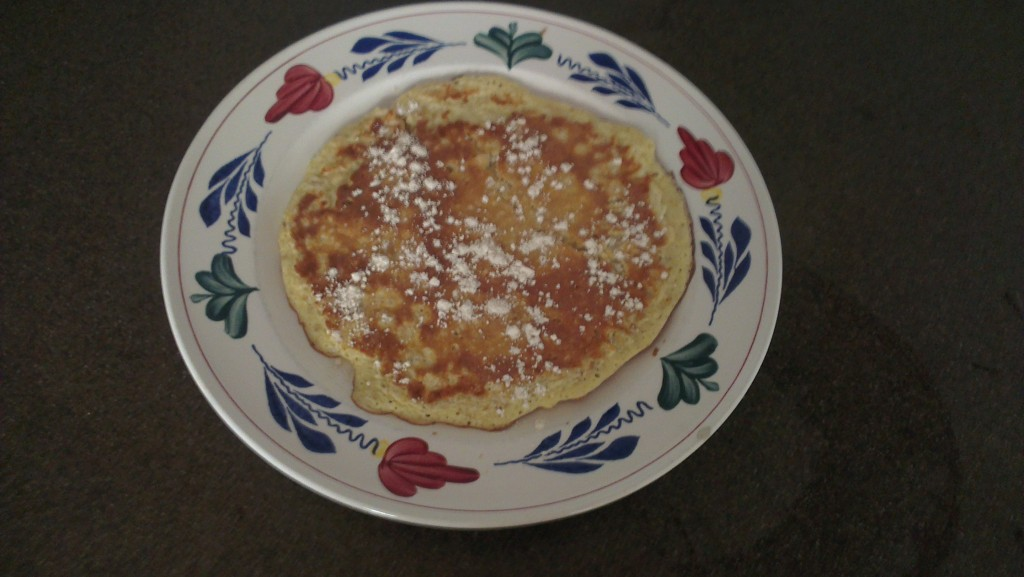 Havermout pannenkoek